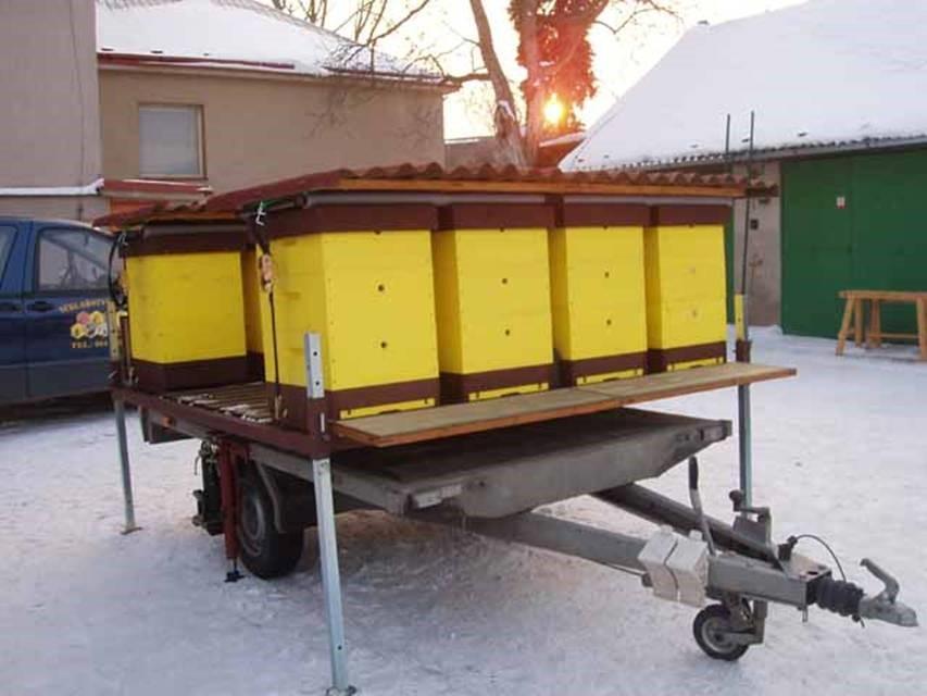 Самодельный пчеловодные прицепы