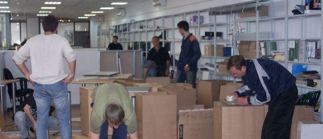 Советы по офисному переезду