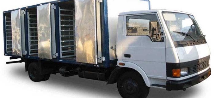 Транспортировка замороженных продуктов